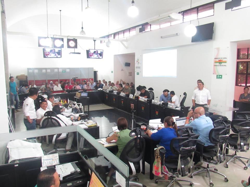 Concejo municipal de  Yopal aprobó plan de desarrollo de Leonardo Puentes