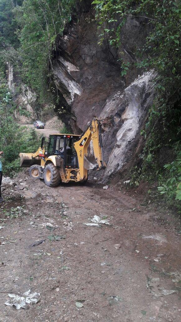 Abren nuevamente vía Yopal Labranzagrande afectada por derrumbes