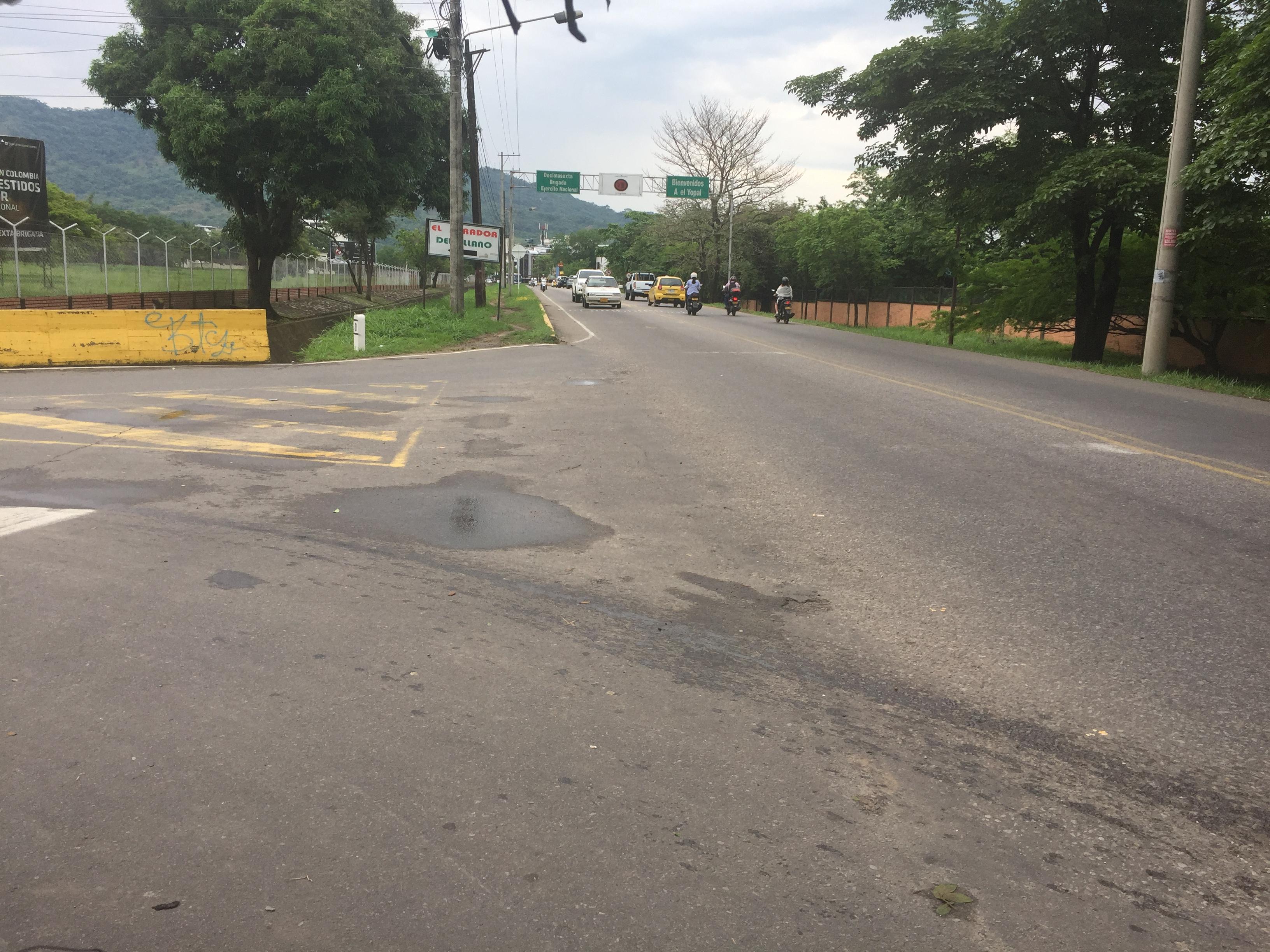 Pendiente decisiones del Tribunal administrativo de Casanare por desacato de Invías y el municipio de Yopal por no señalizar vía Marginal del Llano en sitios críticos