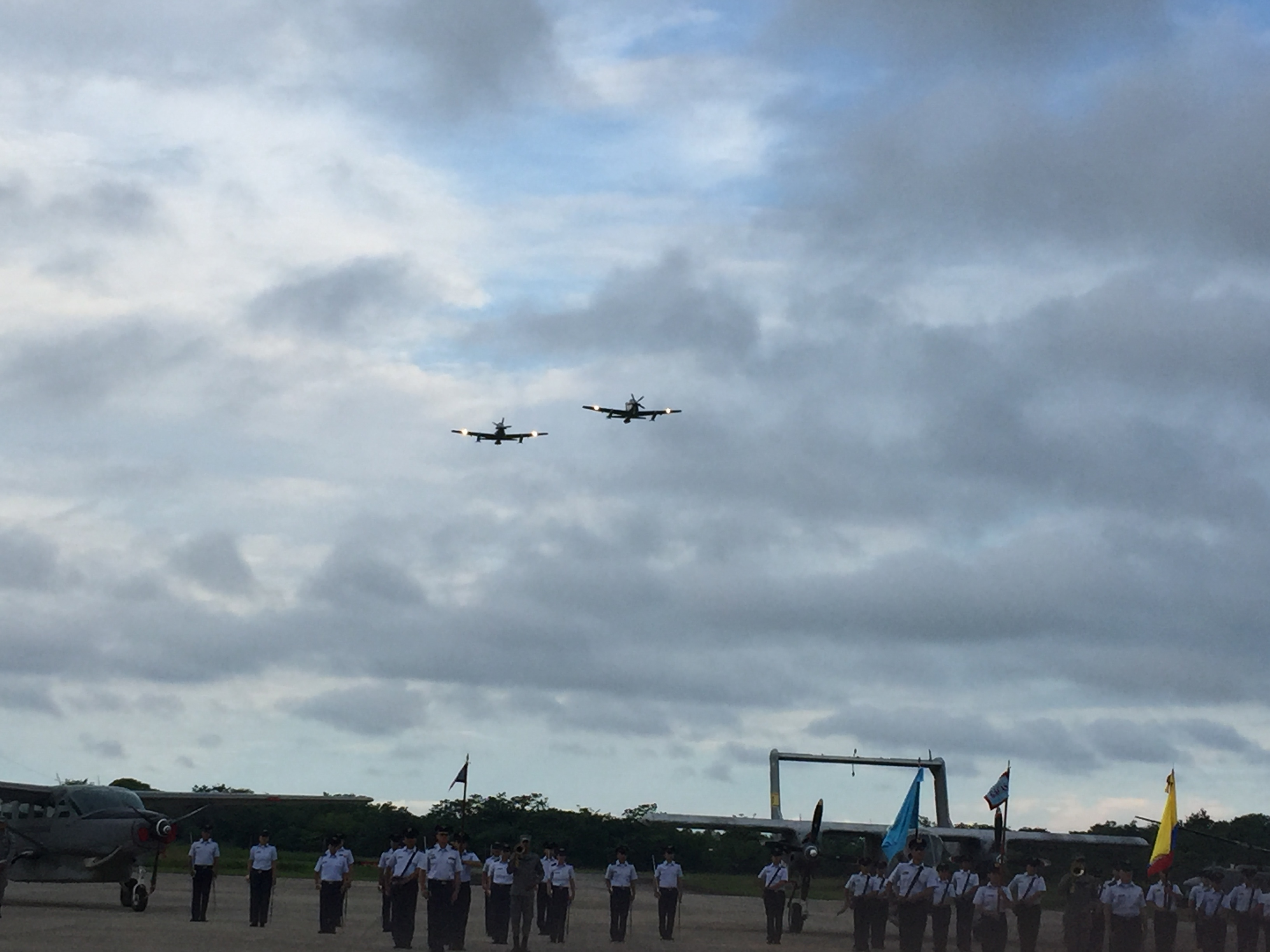 Ocho años  celebró el Grupo Aéreo de Casanare
