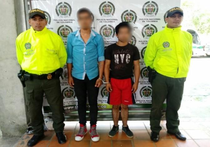 Capturados atracadores de turista en Monterey  por hurto calificado y agravado