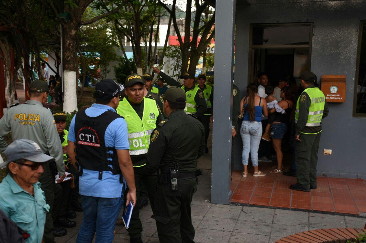 Siguen operativos contra prostitución en el parque la Estancia de Yopal
