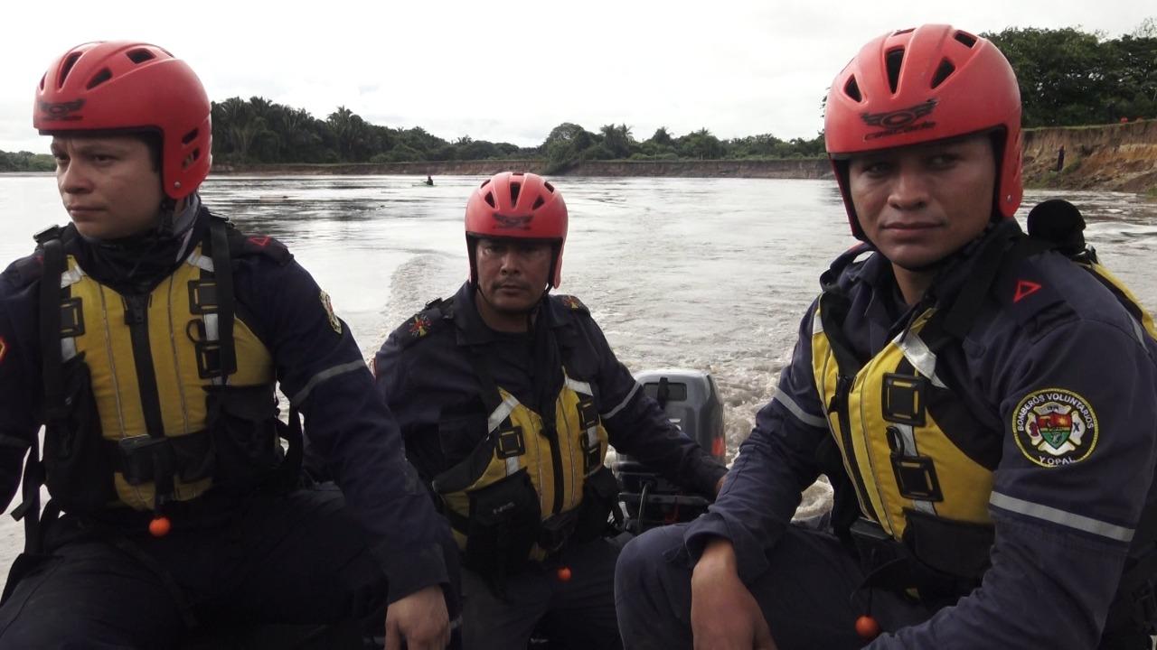 Sigue búsqueda de ciudadano José Garcia  desaparecido en el río Cravo sur