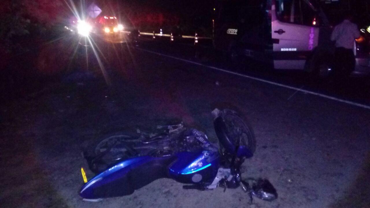 Muere motociclista en accidente en vía Monterrey Yopal