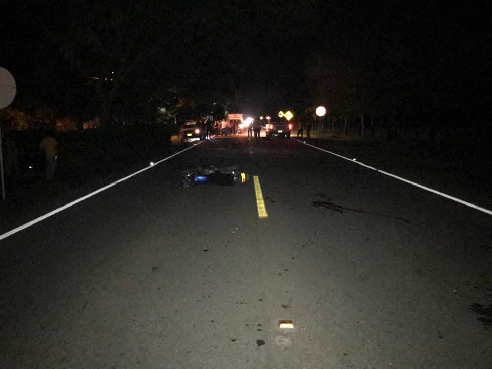 Dos personas heridas y una muerta deja accidente en vía Aguazul Yopal