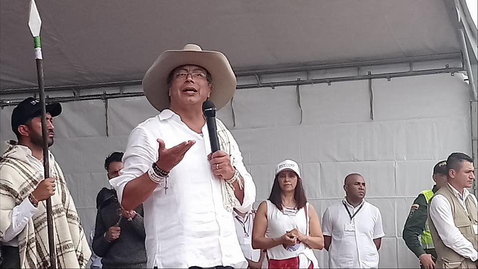 Petro en Yopal arremete contra Uribe, el petróleo y promete que va a acabar con la desigualdad