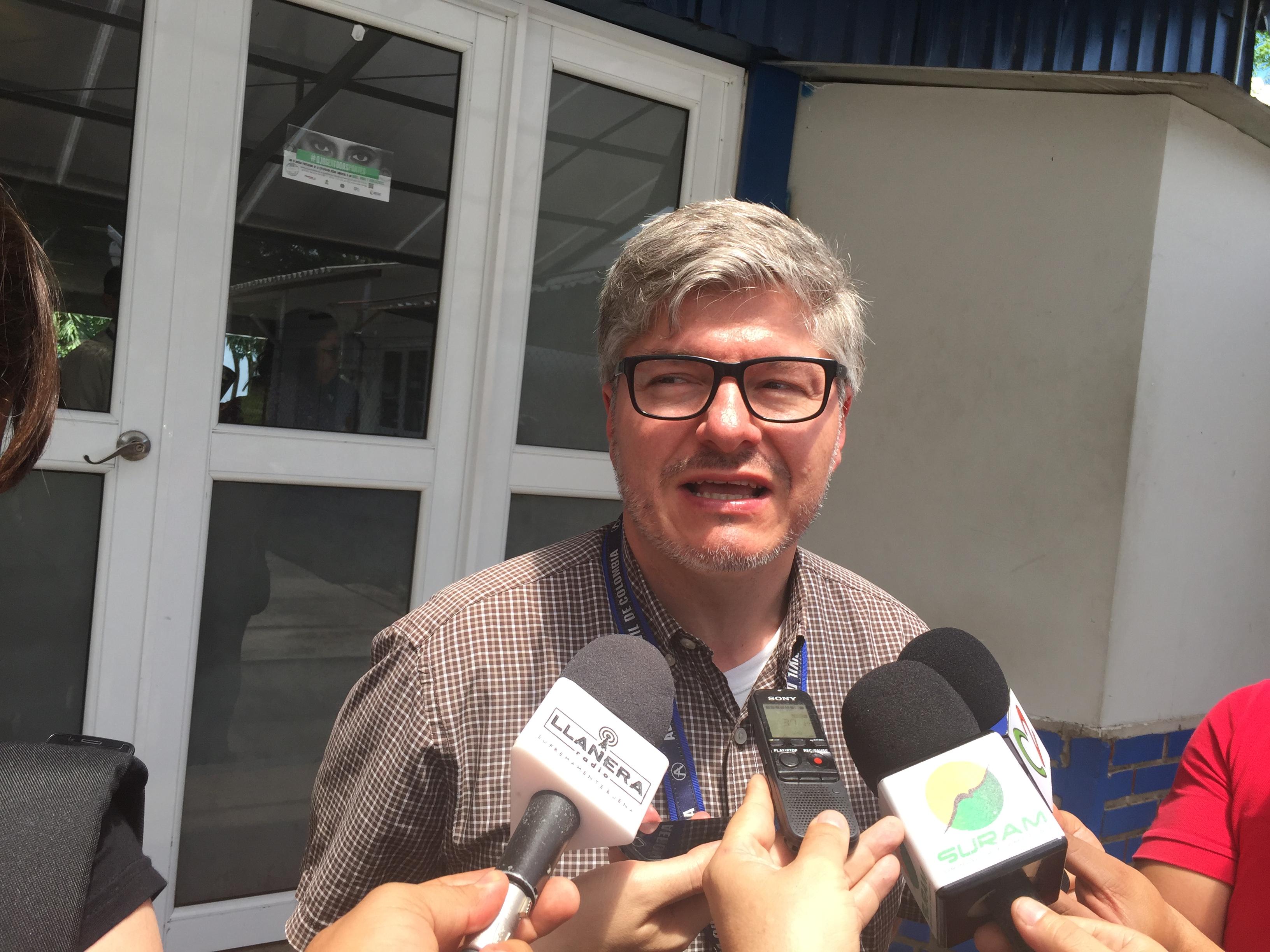"""Director de la Aerocivil Juan Carlos Salazar: """"ampliación de aeropuerto de Yopal casi lista"""""""