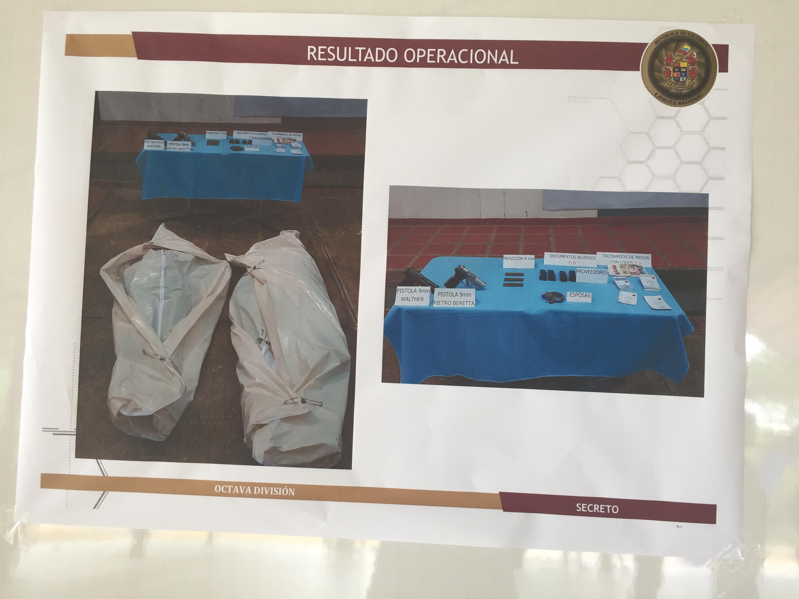 En enfrentamientos con el ejército mueren dos presuntos integrantes del Eln en Casanare
