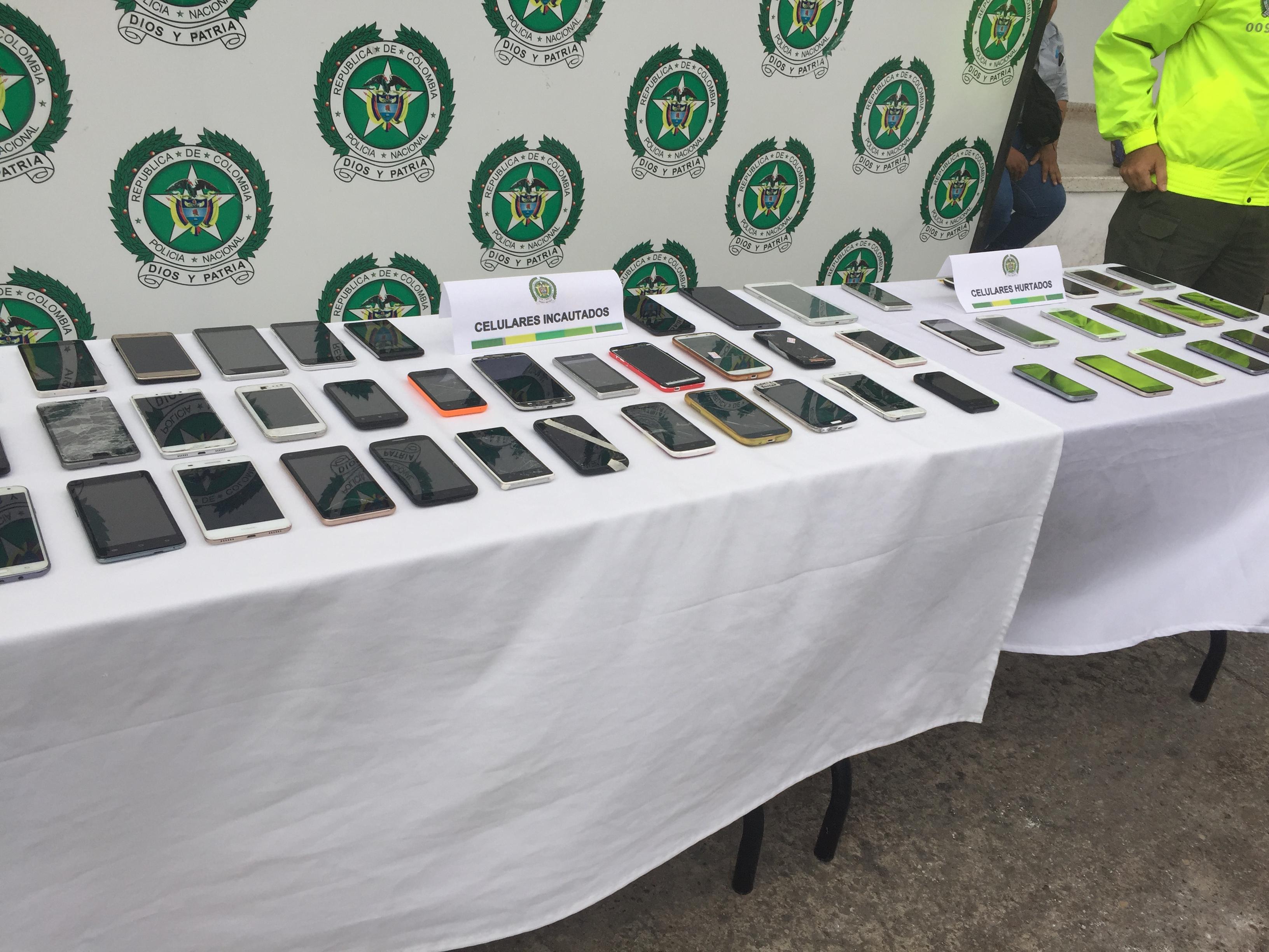 Redada contra la comercio ilegal de equipos móviles en Casanare