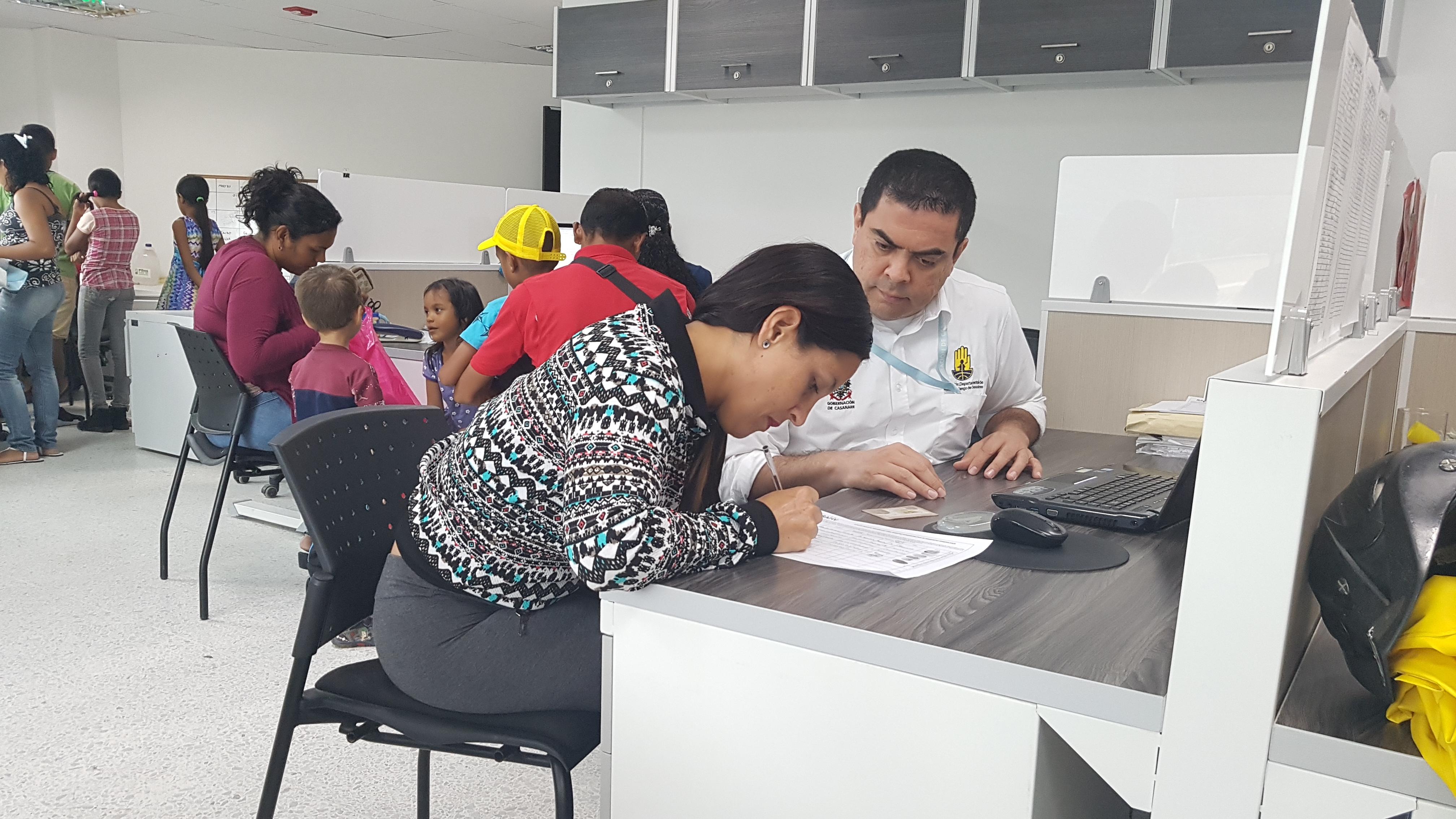 Mas de mil venezolanos censados en Casanare