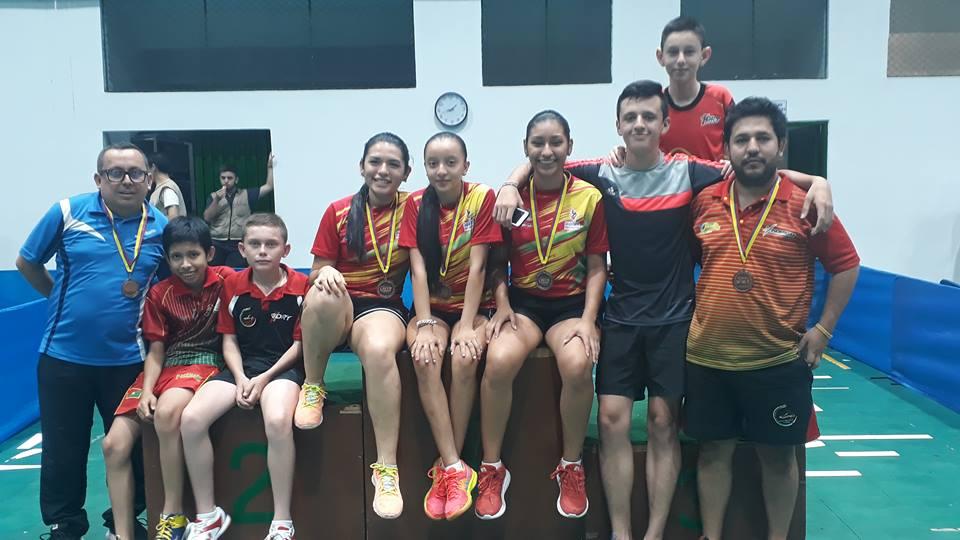 Medalla de bronce obtuvo Casanare en el nacional de tenis de mesa
