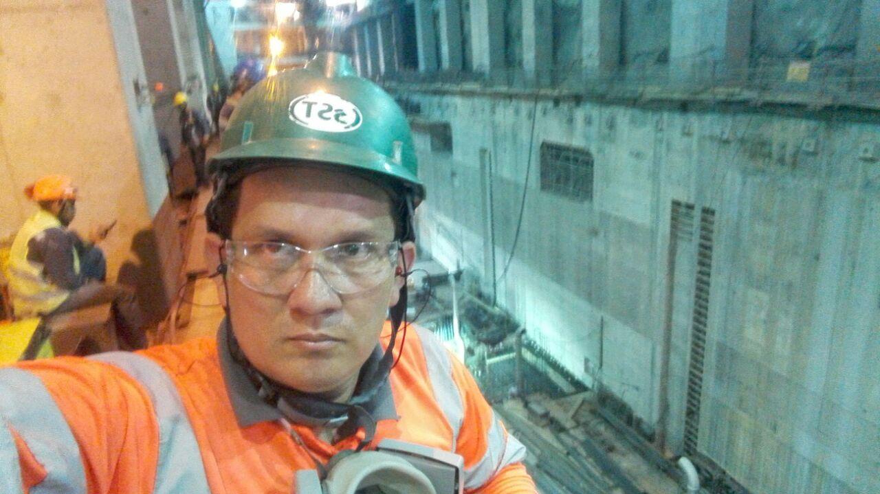 Edwin Martínez casanareño que labora en HidroItuango sale ileso de emergencia