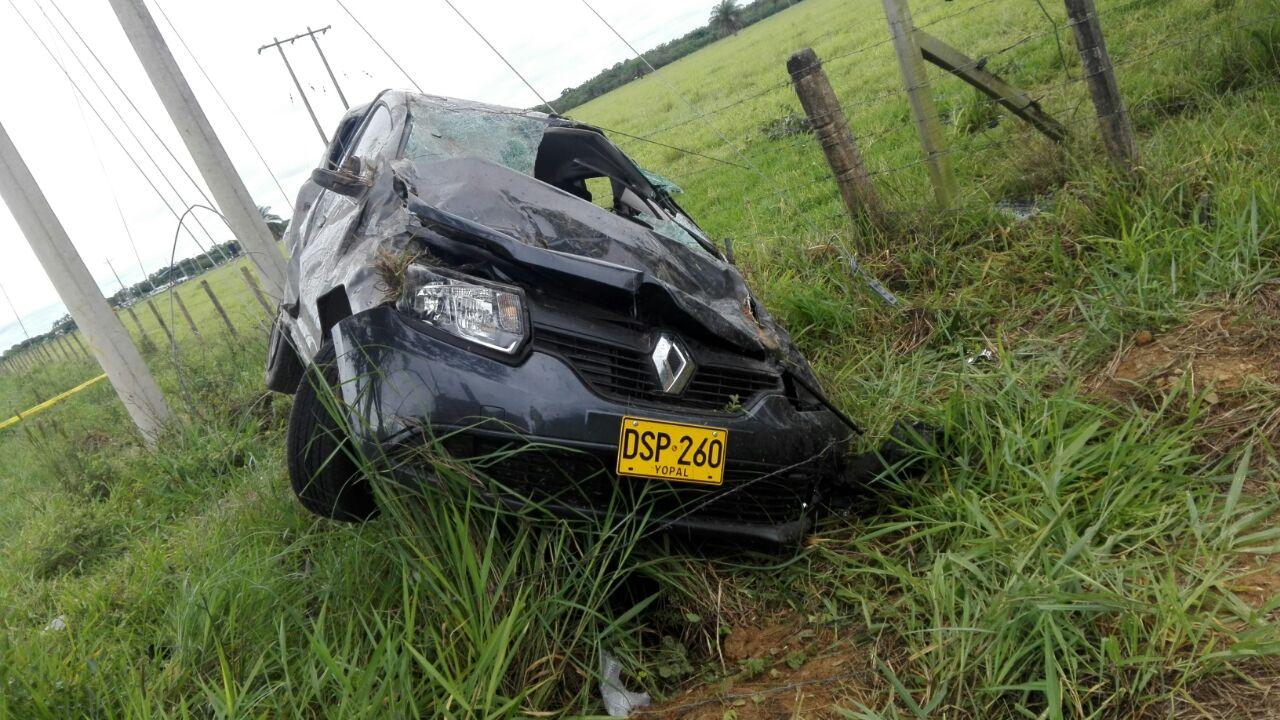 En accidente de Tránsito cerca de San José del bubuy muere docente de colegio La Turua
