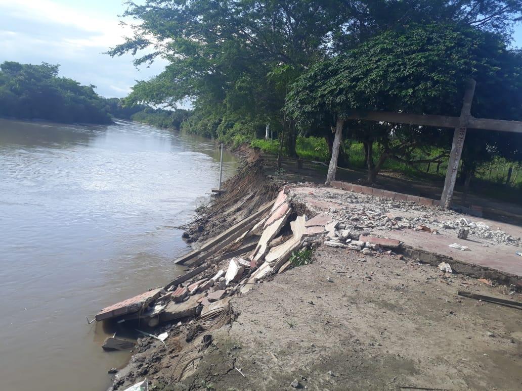Crecida del Río Pauto  deja una familia sin vivienda en Pore