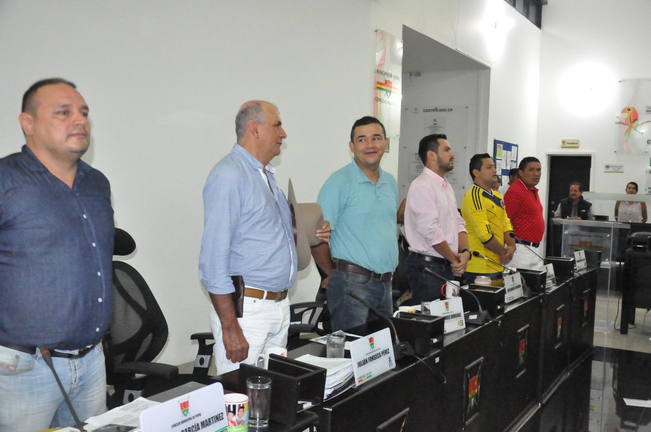 Concejo Municipal de Yopal instala sesiones ordinarias