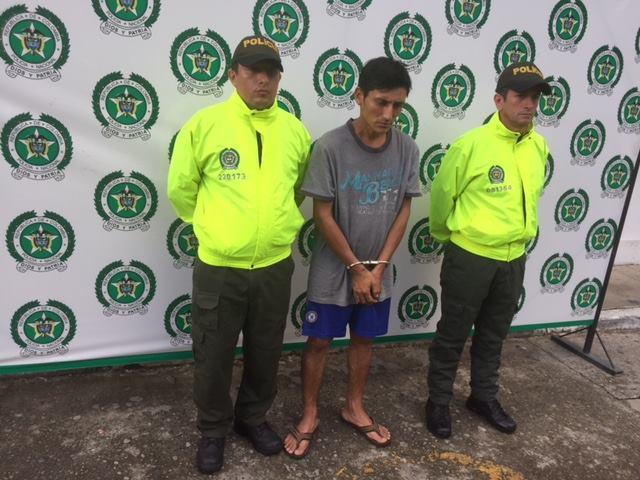 Capturan sujeto en Yopal por hurto calificado con impresionante prontuario delictivo