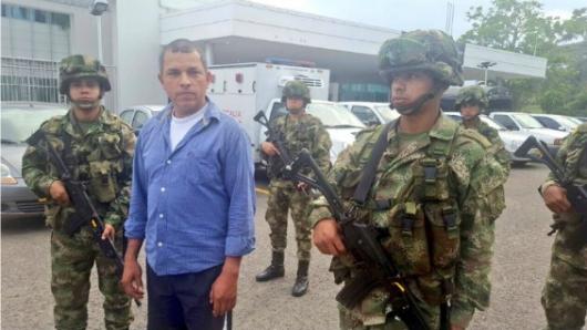 """Alias """"Antonio"""" del Eln acepta cargos por homicidio de dirigente de El Morro Faustino  Acevedo"""