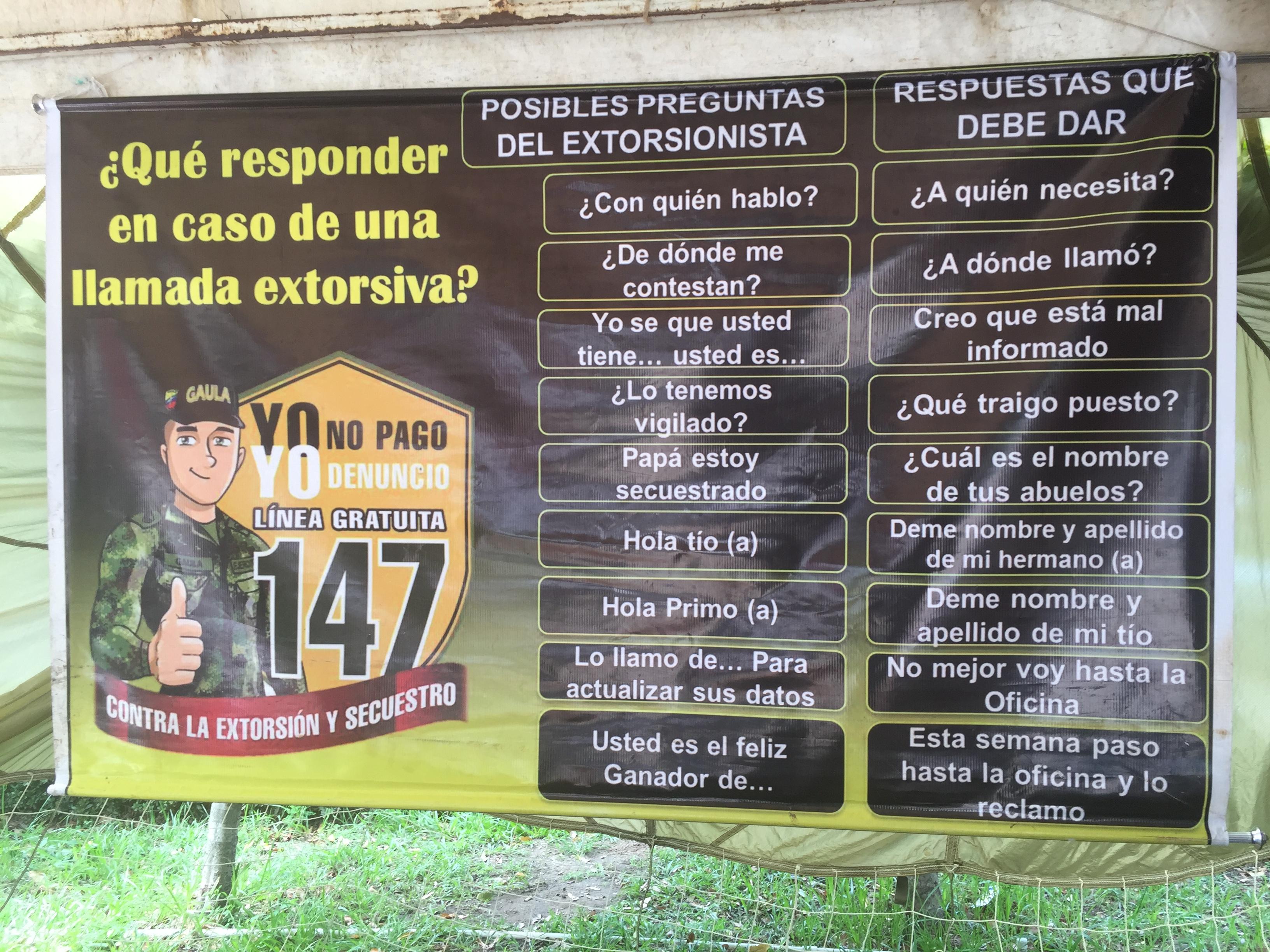 Grupo Gaula arrecia lucha contra la extorsión en Casanare