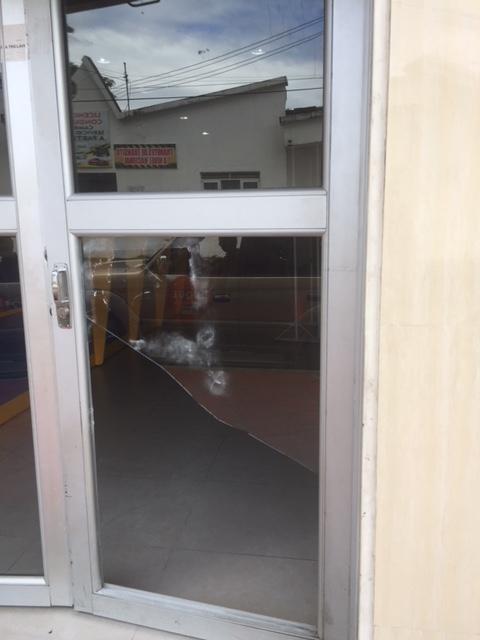 Delincuentes intentaron robar dinero de caja fuerte de empresa concesionaria de Tránsito de Yopal
