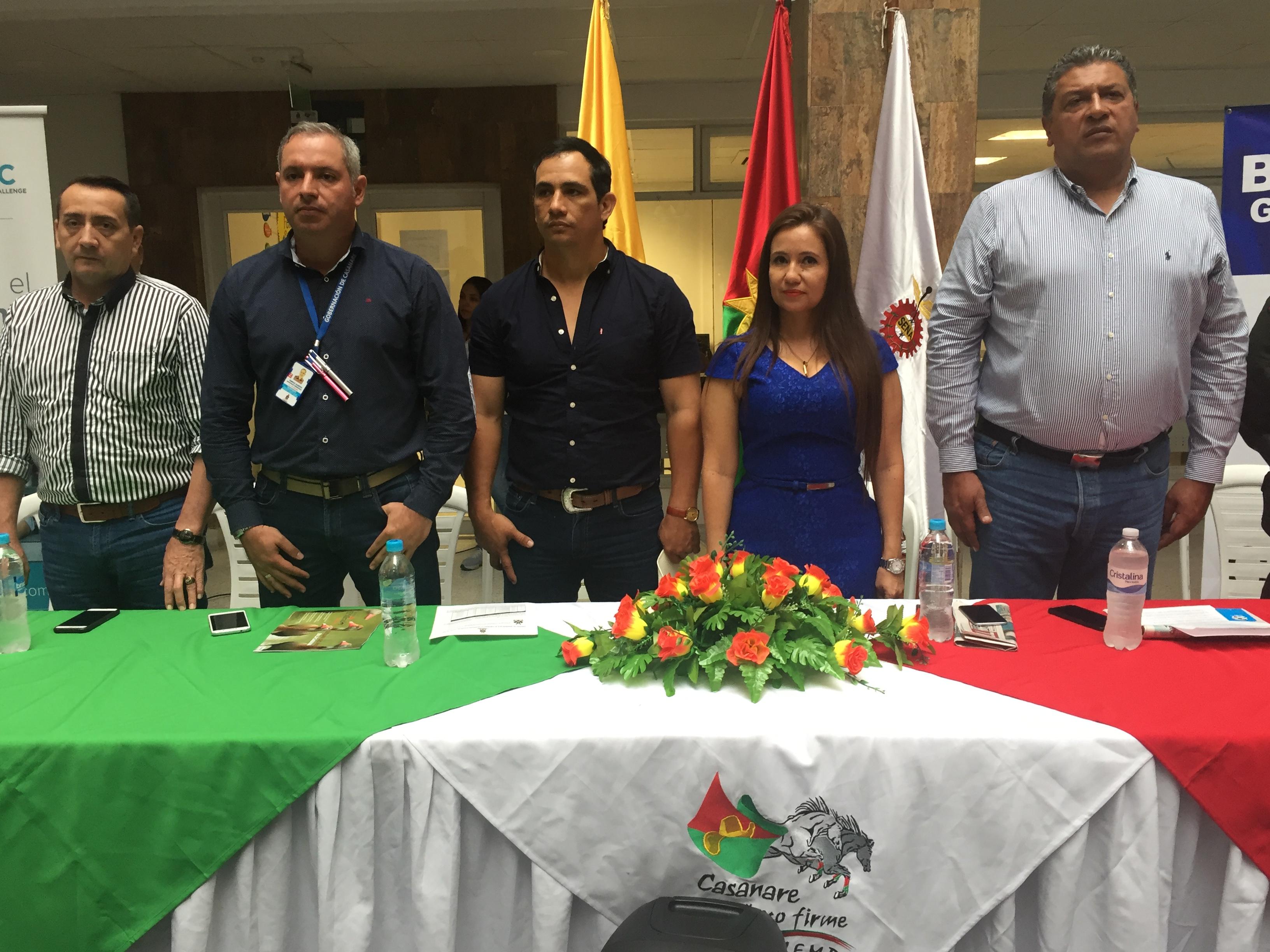 La Gobernación Departamental y el SENA Regional Casanare hacen un reconocimiento a los empresarios de la región