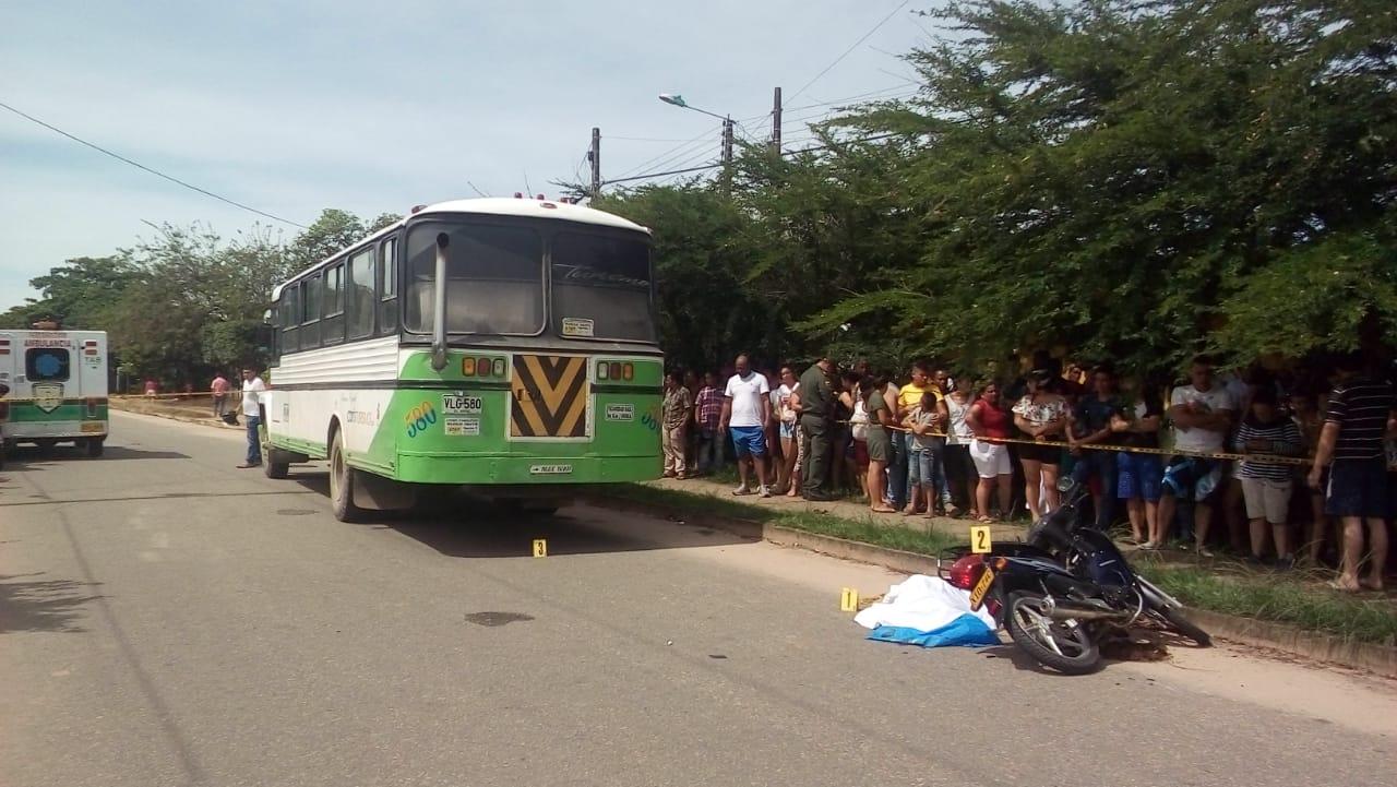 Muere joven docente de preescolar en accidente en Villanueva