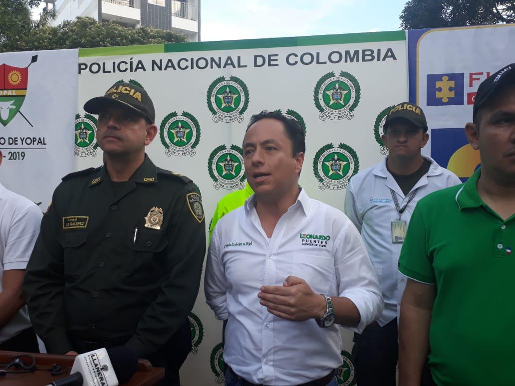 """Desarticulan  a la banda los """" Fenix""""  dedicada al  micro tráfico de estupefacientes en Yopal"""