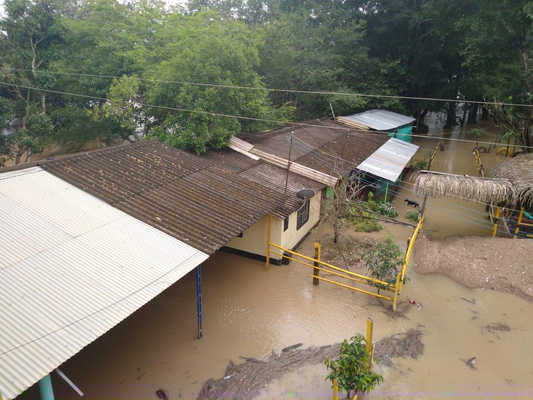Los Ríos Meta y Cusiana inundan varios sectores urbanos y rurales de Maní con muchas familias afectadas