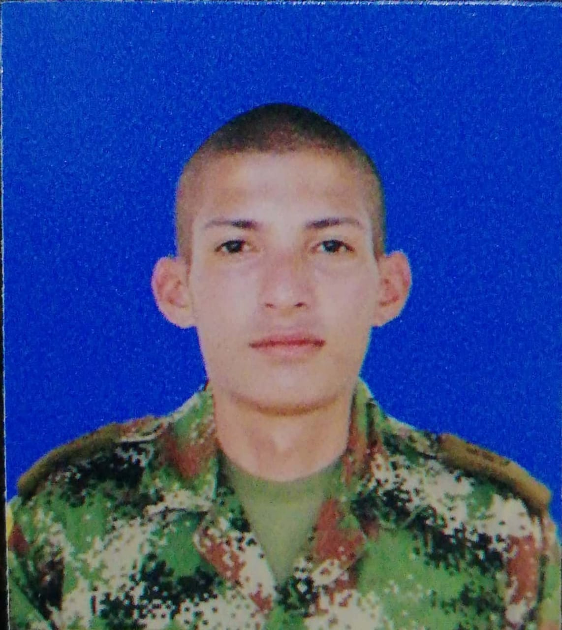 Soldado le quitó la vida  a su compañero de armas Eider Alexis Tovar Triviño