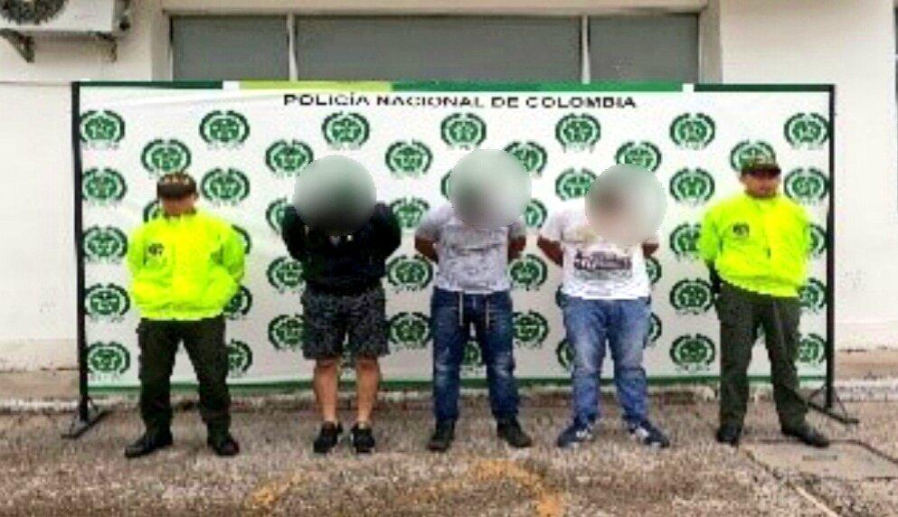 """Capturado grupo  """"LOS TÁCTIL"""" que robaron  300 celulares en Yopal"""
