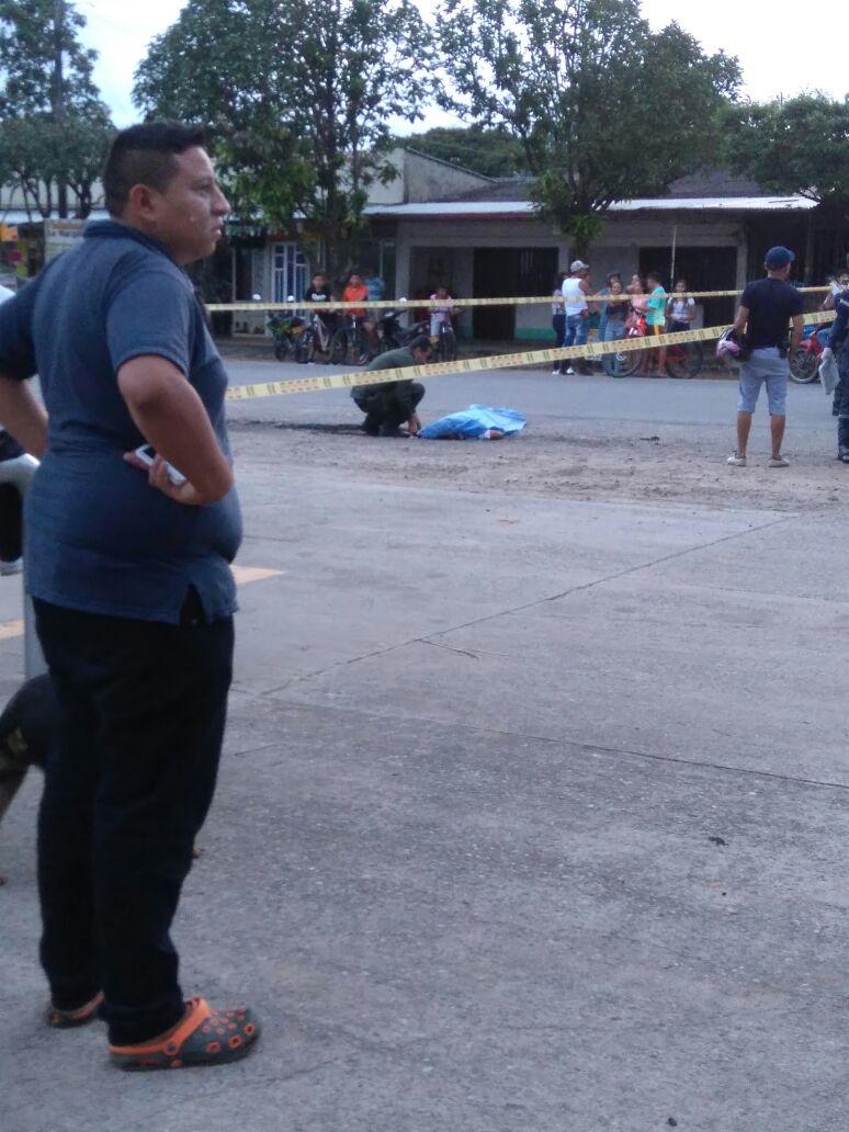 Homicidio con arma blanca ayer en Pore