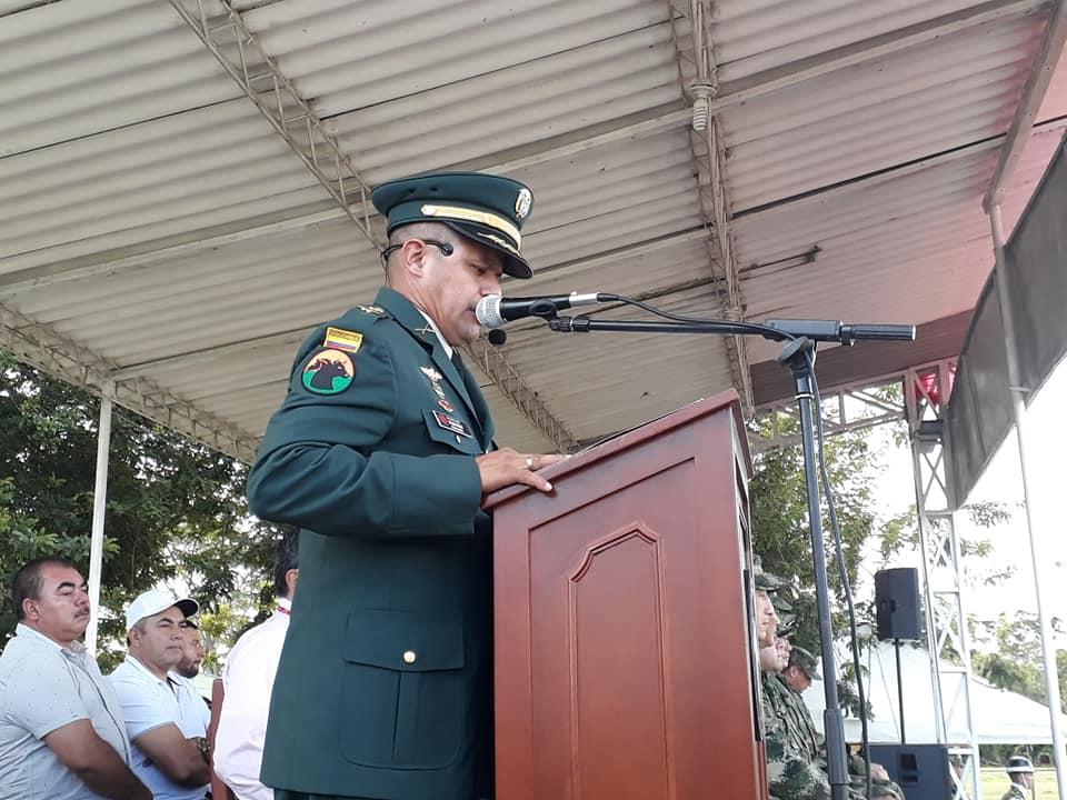 Nuevo comandante en el Batallón Ramón Nonato Pérez de Tauramena