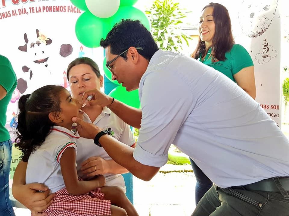 Aceptable asistencia a vacunación contra 26 enfermedades