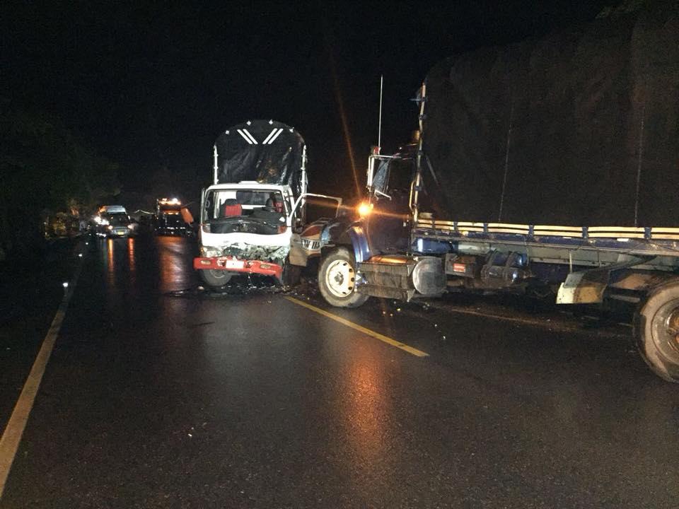 Choque  de tres vehículos deja un  lesionado y dos afectados en vía Aguazul Yopal