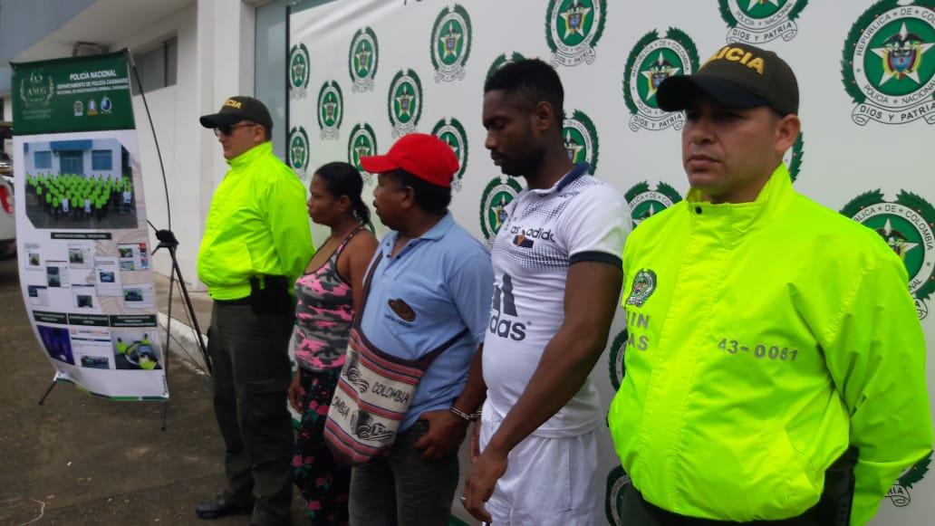 """En Villanueva capturan a los """"Niches"""" expendiendo alucinógenos"""