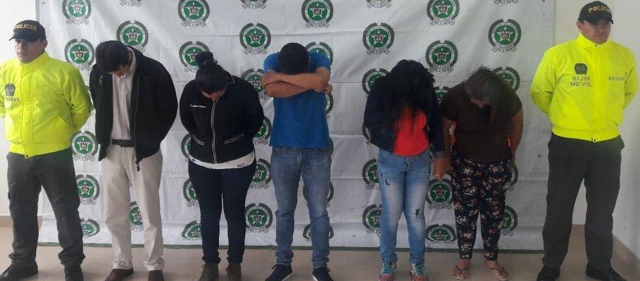 """""""Los Tramitadores"""" una banda que con fraudes entregaba documentos de tránsito en Paz de Ariporo"""