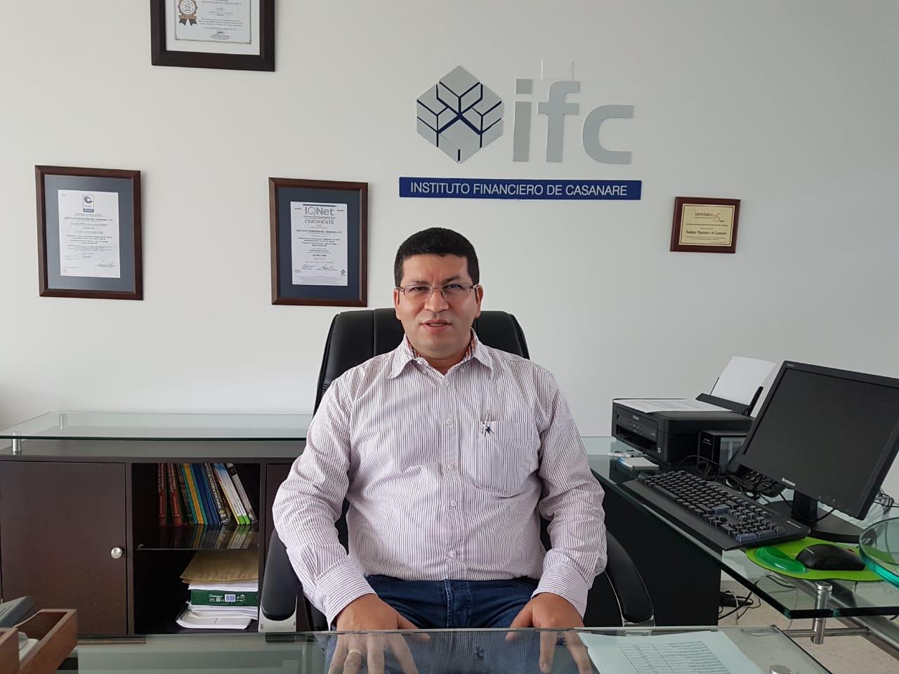 Dairo Martín Juya Ruiz es el nuevo gerente del IFC