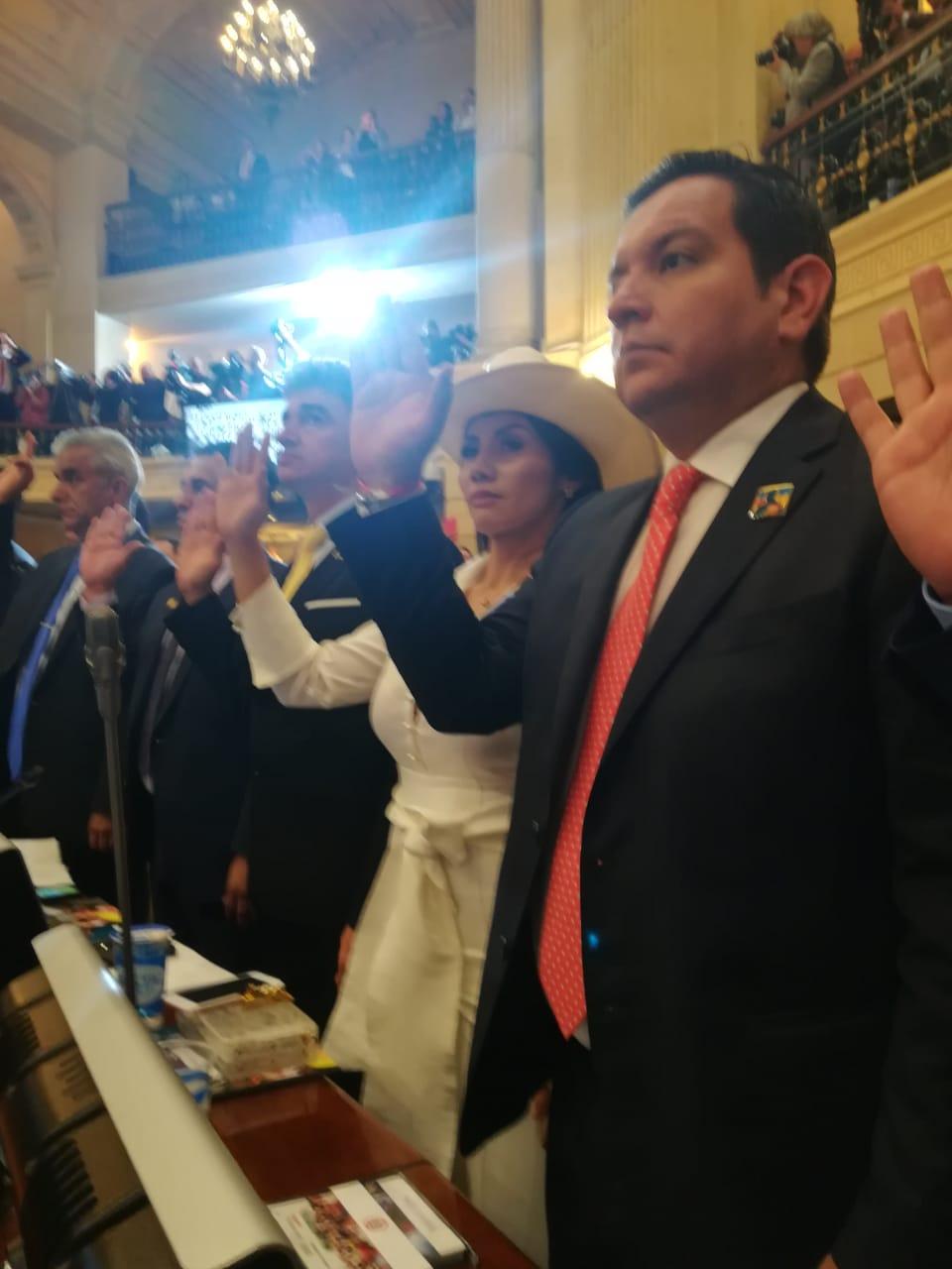 Arrancó periodo en el Senado  Amanda  Rocío González