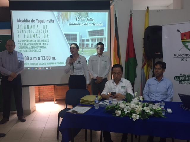 Arranca proceso para nombramientos en cargos públicos por méritos en Casanare