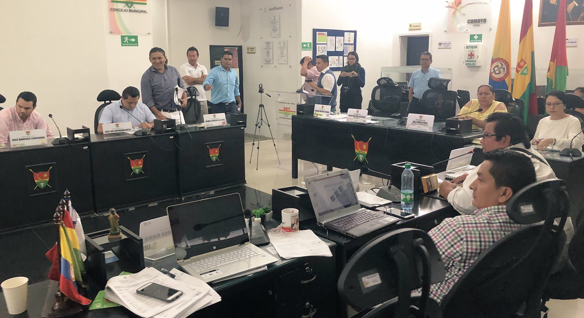 Aprobada armonización presupuestal del municipio de Yopal en comisión