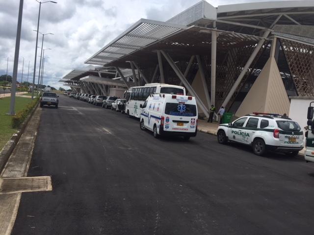 Nueva Terminal aérea de Yopal moderna y amplia pero aún no está en servicio