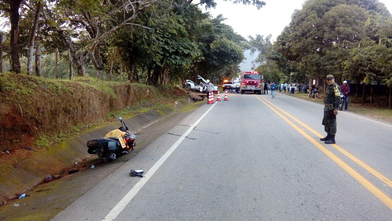 Una persona muerta y dos heridas en accidente en vía Tauramena  Yopal
