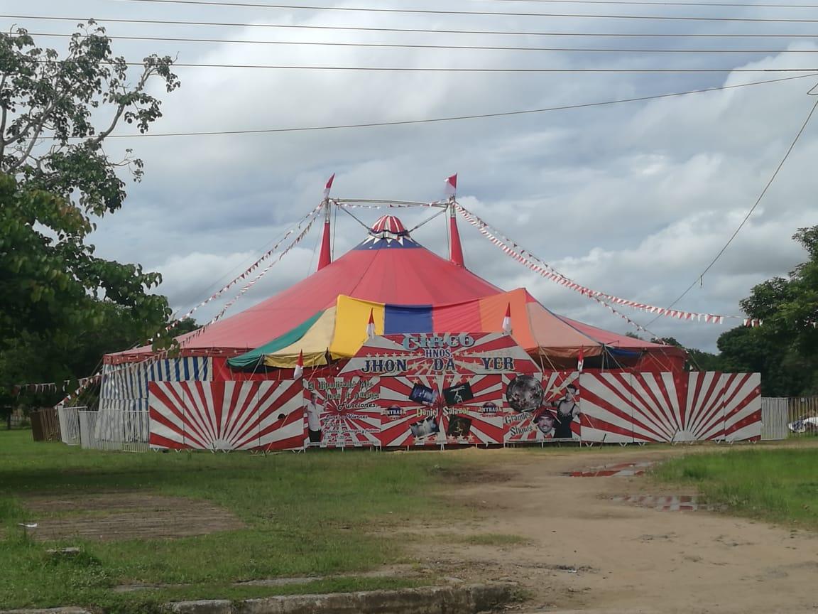 Revocan permiso para funcionamiento de circo chileno en Maní