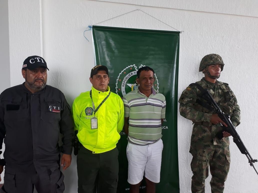 capturado Ex gobernador  indígena por presunto acceso carnal abusivo con menor de 14 años