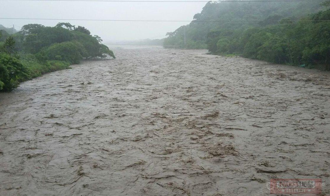 Río Cravo sur alcanzó ayer los tres metros 41 centímetros de nivel