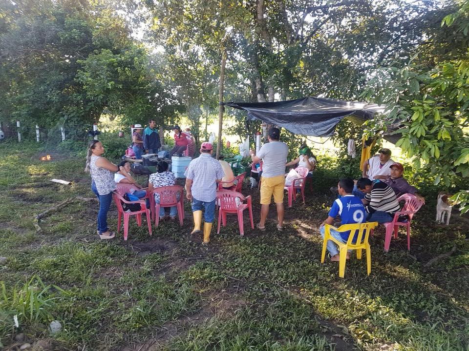 Habitantes de Tilodirán mantienen protesta contra Colombia Energy