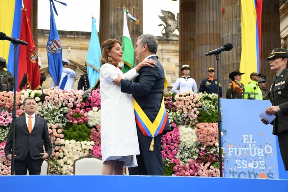 Martha Lucía Ramírez la primera mujer en llegar a la Vice presidencia de la república