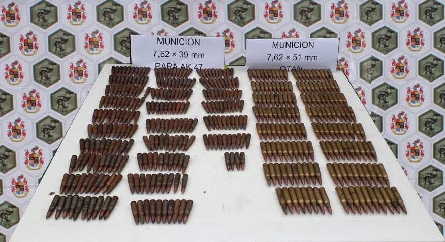 Ejército  halló material de guerra en zona rural de Sácama Casanare