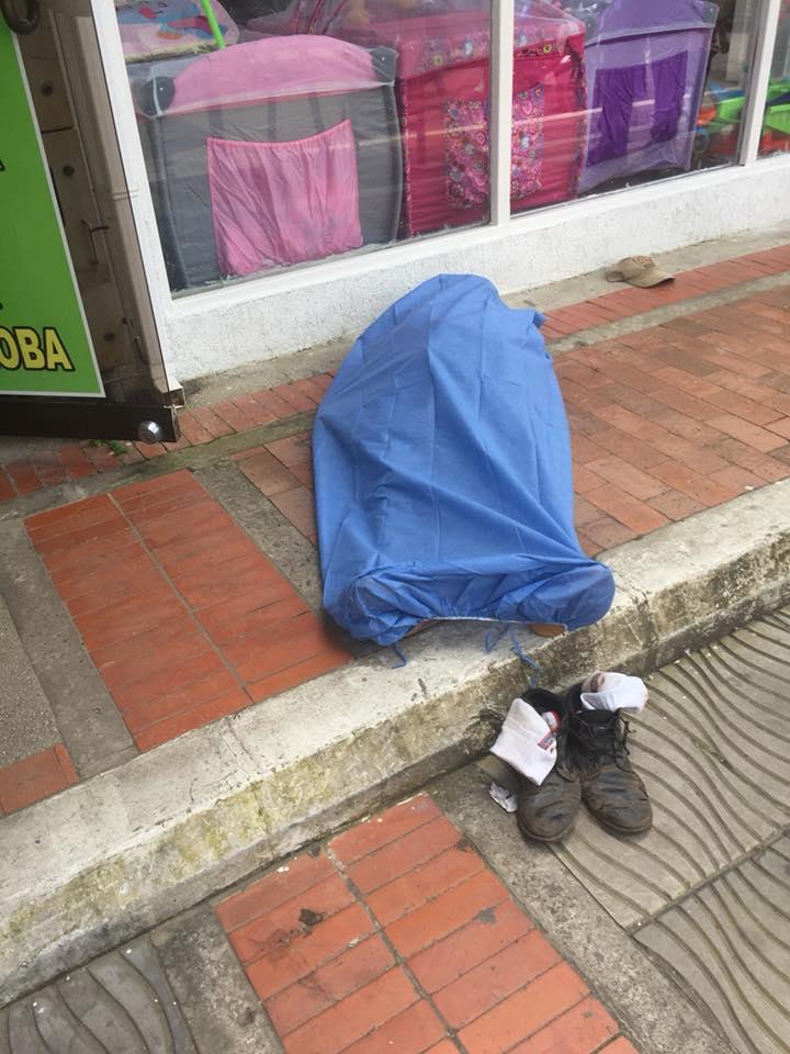 Indignación por muerte de ciudadano en anden en pleno centro de Yopal a la espera de ambulancia