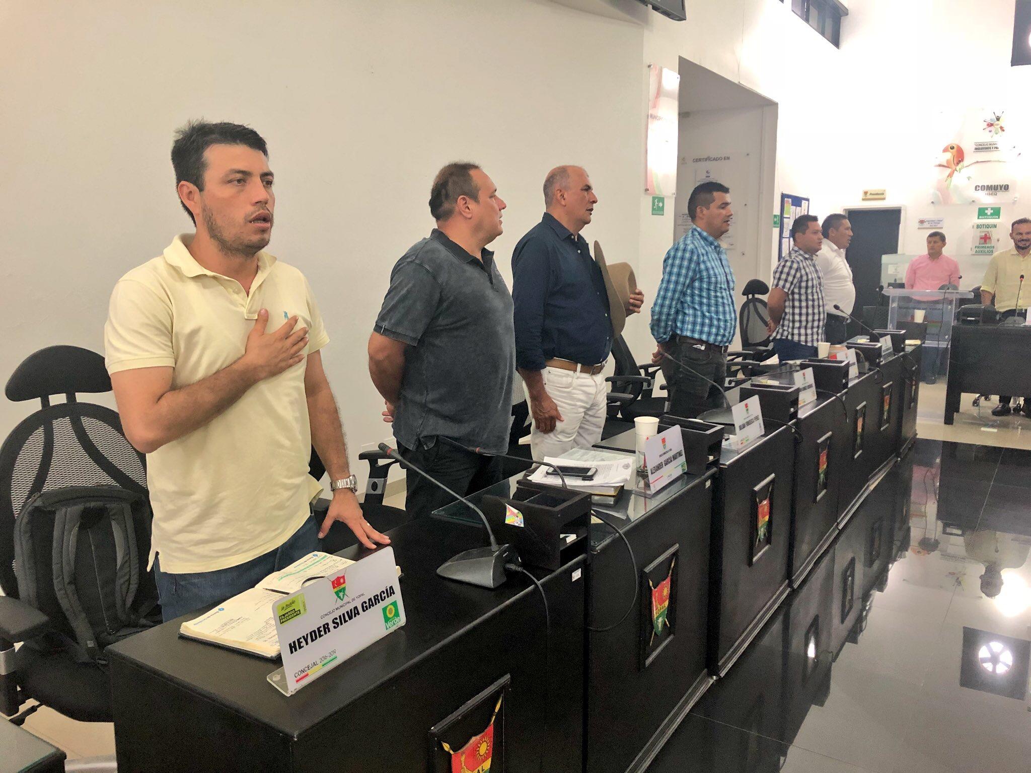 Arrancan  sesiones extras del  Concejo  de Yopal