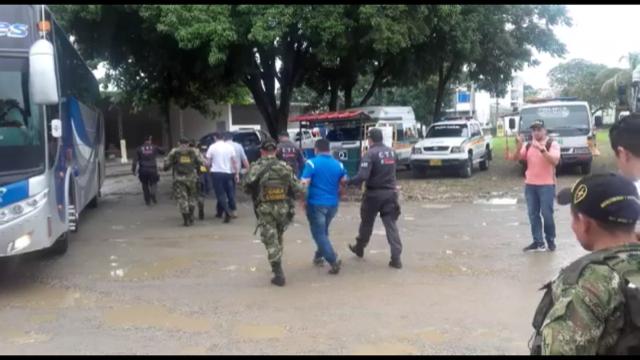 Van 12 integrantes de Tránsito y transporte de Yopal detenidos por la fiscalía